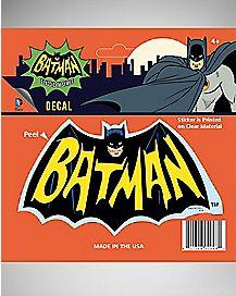 Batman 66 Logo Decal - DC Comics