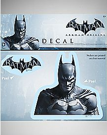 Batman Origins Arkham Decal - DC Comics