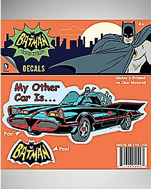 My Other Car is Batmobile Decal