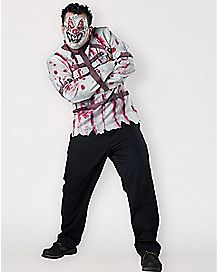 Adult Carnival Killer Clown Plus Size Costume