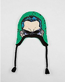 Knit Graphic Riddler Laplander Hat