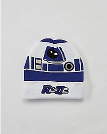 Knit Cuff R2D2 Star Wars Hat and Glove Kids Set