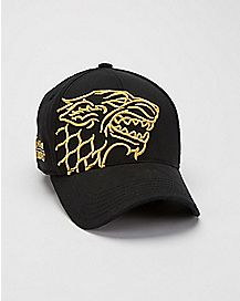 Embroidered Stark Game of Thrones Baseball Hat