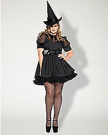 Plus Size Adult Bewitching Witch Costume