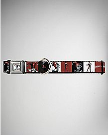 Blocks Harley Quinn Dog Collar