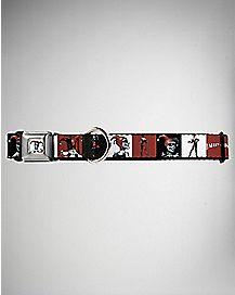 Blocks Harley Quinn Dog Collar