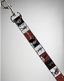 4' Blocks Harley Quinn Dog Leash
