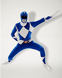 Adult Blue Ranger Costume - Power Rangers