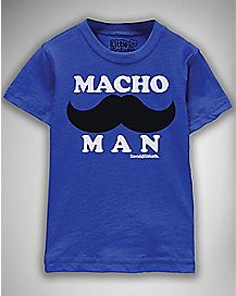 Macho Man Toddler T shirt