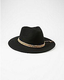 Zima Floppy Hat - Black
