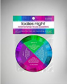 Ladies Night Trivia Coasters