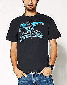 Blue Nightwing Batman T shirt - DC Comics