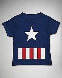 Great Star Captain America Toddler T shirt
