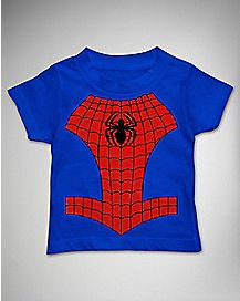 Spider in Line Spider-Man Toddler T shirt - Marvel Comics