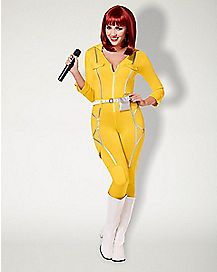 Adult April O'Neil Catsuit Costume - Teenage Mutant Ninja Turtles