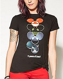 Multi Icon Deadmau5 T Shirt