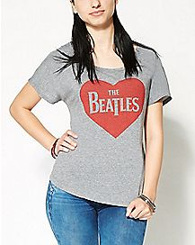 Heart The Beatles Dolman T shirt