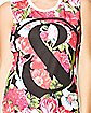 Mice and Men Floral Tank Top