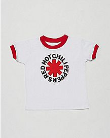 Red Hot Chili Peppers Logo Toddler T  shirt