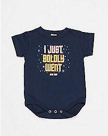 I Just Boldly Went Star Trek Baby Bodysuit