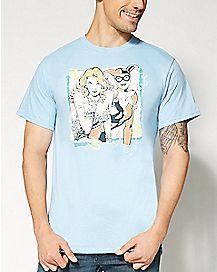 Harley Quinn and Poison Ivy DC Comics  T shirt