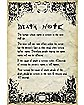 Rules Death Note Poster