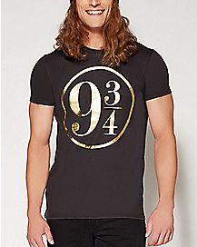 Foil Logo Harry Potter T shirt