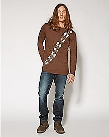 Long Sleeve Chewbacca T Shirt - Star Wars