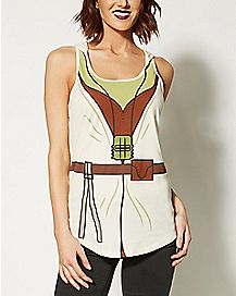 Hooded Yoda Star Wars Tank Top