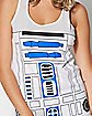 Hooded R2D2 Star Wars Tank Top