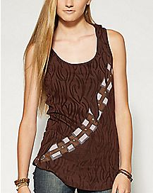 Hooded Chewbacca Star Wars Tank Top