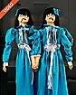 4 Ft Evil Twins Animatronics - Decorations