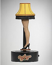 A Christmas Story Body Knocker Lamp