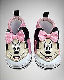 High Top Minnie Mouse Baby Disney Shoes