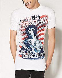 Are You Experienced Jimi Hendrix T shirt