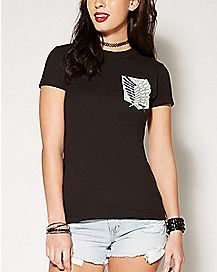 Survey Corps Attack On Titan T shirt