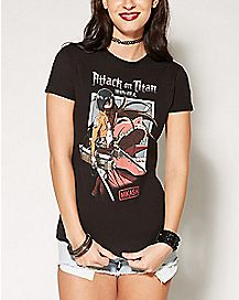 Mikasa Attack on Titan T shirt