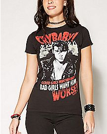 Good Girls Want Him Cry-Baby T Shirt
