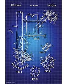 Bong Patent Poster