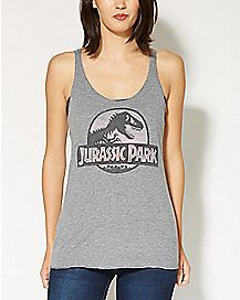 Safari Jurassic Park Tank Top