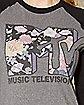 Garden Raglan MTV T shirt