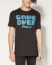 Pixels T Game Over T shirt