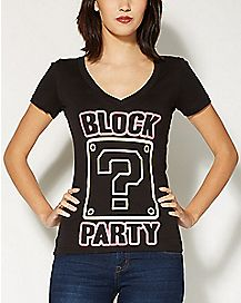 Block Party Nintendo T shirt