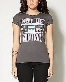 Out Of Control Nintendo T shirt