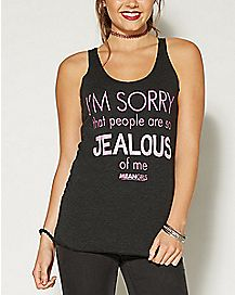 Im Sorry People Are So Jealous Mean Girls Tank Top