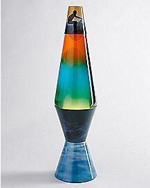 Surfer Print Lava Lamp - 14.5 Inch