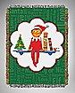 Elf On The Shelf Tapestry Throw Blanket