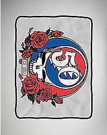 50th Anniversary Grateful Dead Fleece Blanket