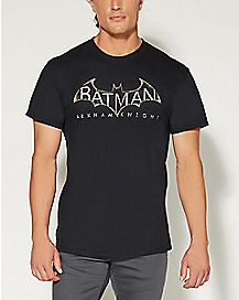 Logo Batman Arkham Knight Batman T shirt