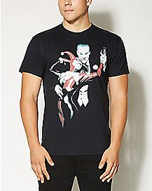 Harley Quinn and Joker T shirt